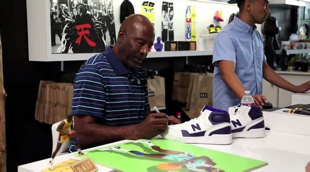 Video: NEW BALANCE 740 RELEASE EVENT w/ JAMES WORTHY @ BAIT LA