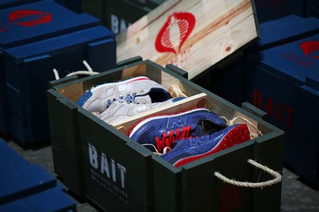 BAIT x G.I. JOE x NEW BALANCE MILITARY CRATE