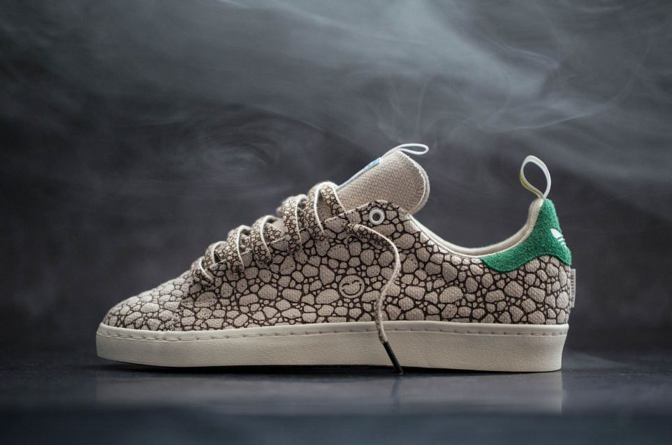 "BAIT x Adidas Skateboarding Stan Smith VULC ""Happy"""