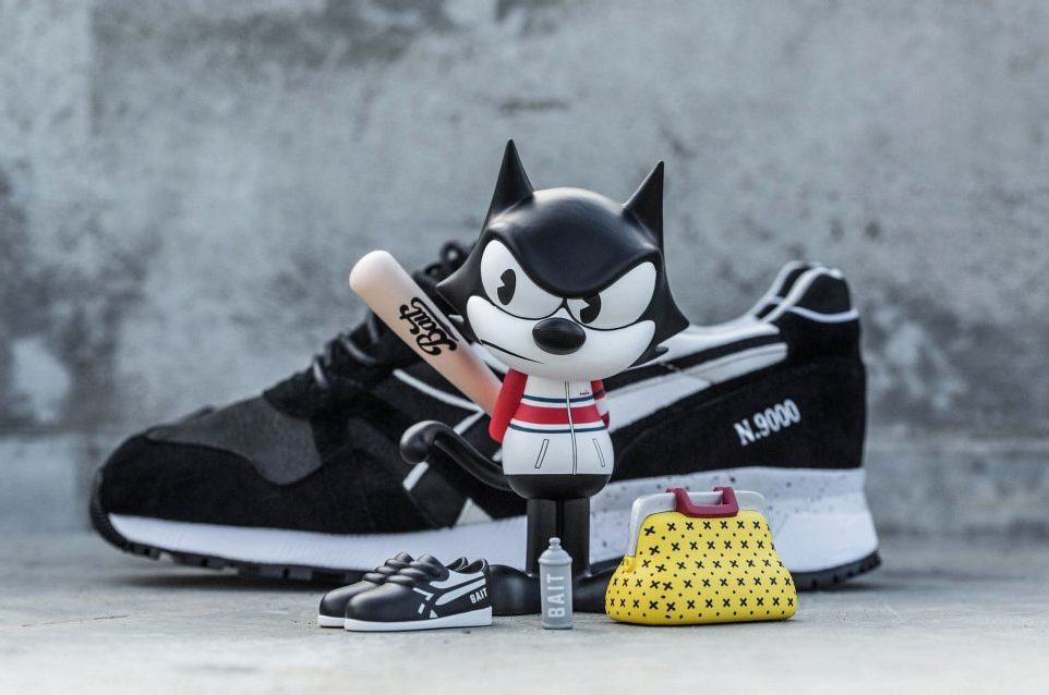 BAIT x Dreamworks x Diadora N9000 – Felix the Cat
