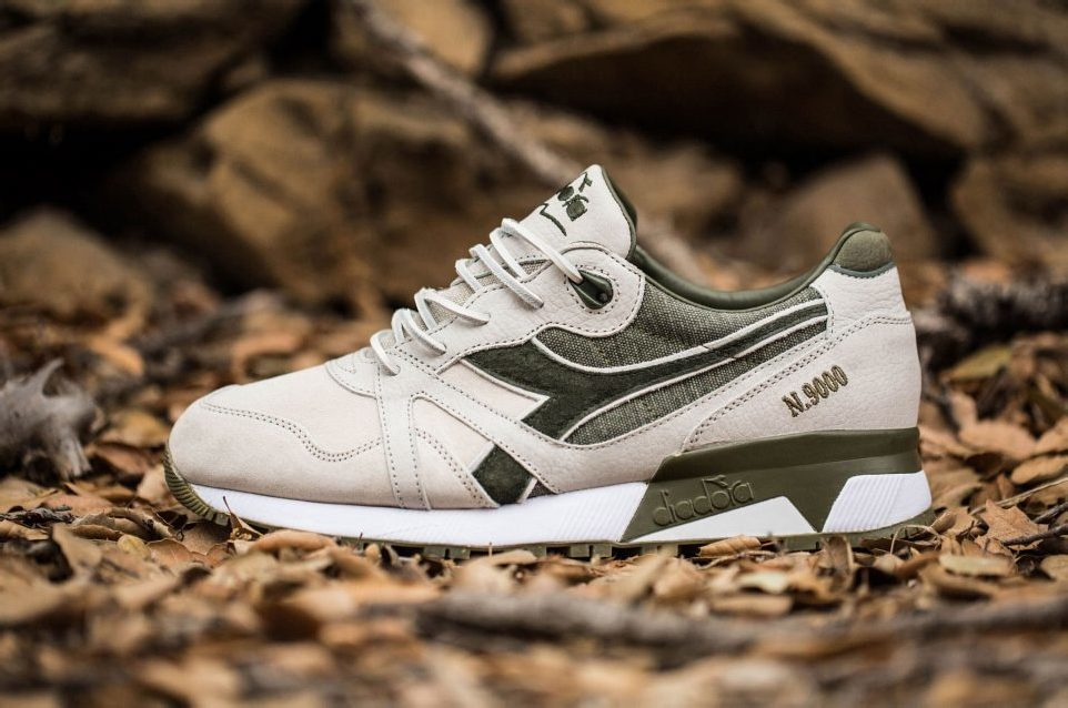 "BAIT x Dreamworks x Diadora N9000 ""Shrek"" Made in Italy"