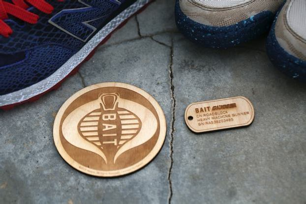 BAIT x G.I. JOE x NEW BALANCE DOGTAGS + COASTER