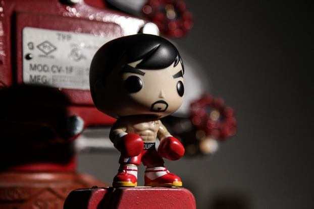 FUNKO POP! ASIA TEAM MANNY PACQUIAO VINYL FIGURE