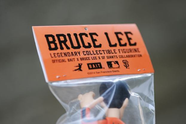 "Teaser: BAIT x BRUCE LEE x SAN FRANCISCO GIANTS ""2014 BRUCE LEE TRIBUTE NIGHT"" FIGURE GIVEAWAY"