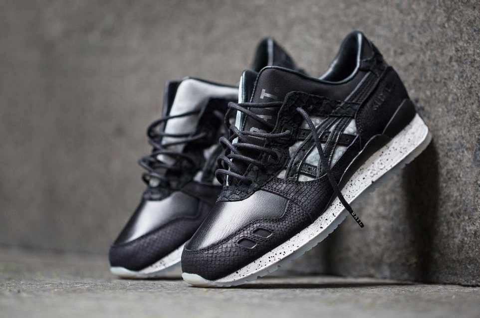 "The BAIT x Asics Tiger 25th Anniversary Model-004 ""Nightmare"""