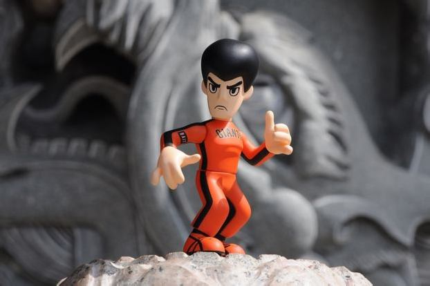 "BAIT x SAN FRANCISCO GIANTS x BRUCE LEE FIGURE for ""BRUCE LEE TRIBUTE NIGHT"""